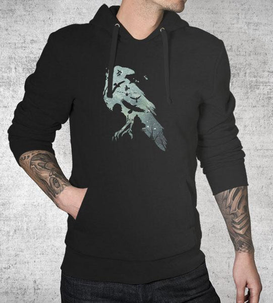 Murder of Crows Hoodies by Dan Elijah Fajardo - Pixel Empire