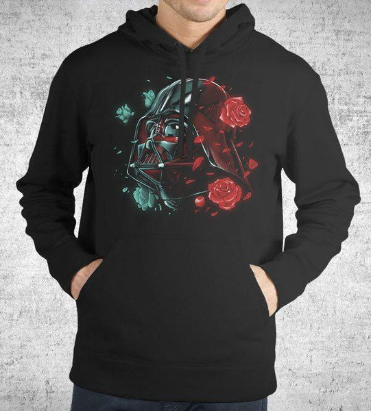 Dark Side of the Bloom Hoodies by Vincent Trinidad - Pixel Empire