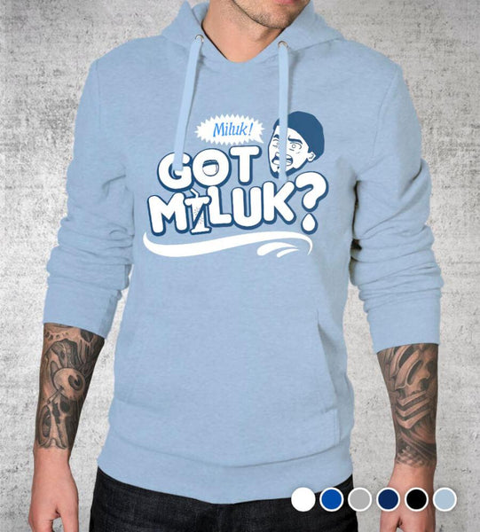 Got Miluk? Hoodies by Caddicarus - Pixel Empire