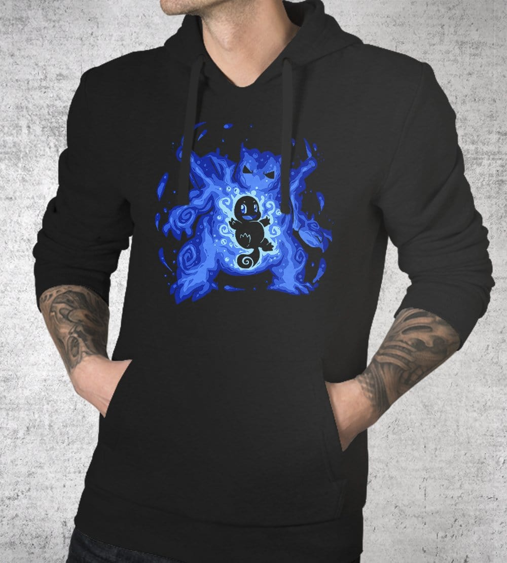 The Water Tortoise Within Hoodies by Techranova - Pixel Empire