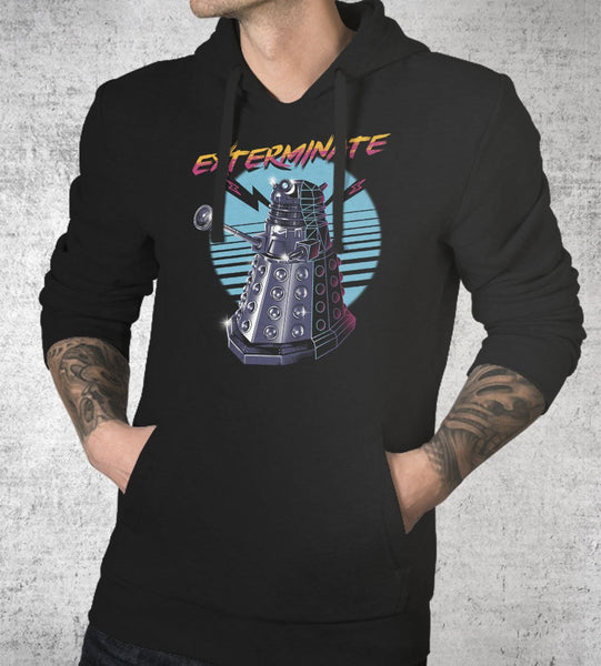 Exterminate Hoodies by Vincent Trinidad - Pixel Empire