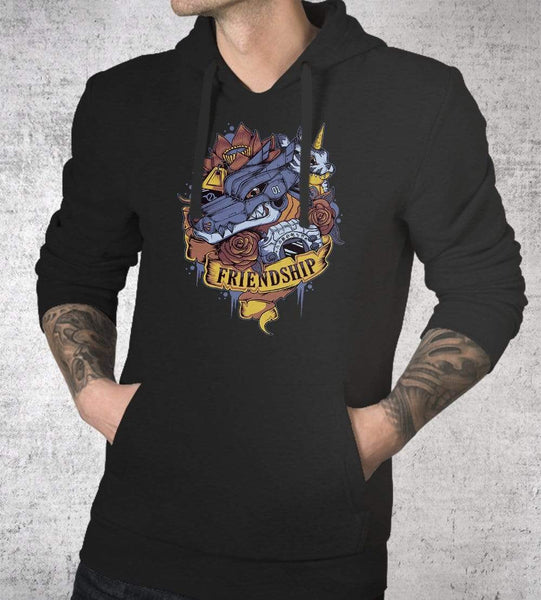 Friendship Power Hoodies by Typhoonic - Pixel Empire