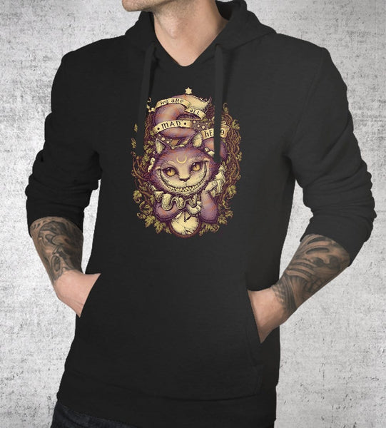 Cheshire Cat Hoodies by Medusa Dollmaker - Pixel Empire