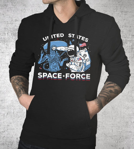 Space Force Hoodies by Ronan Lynam - Pixel Empire