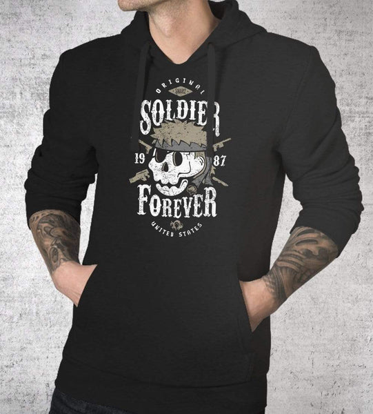 Soldier Forever Hoodies by Olipop - Pixel Empire
