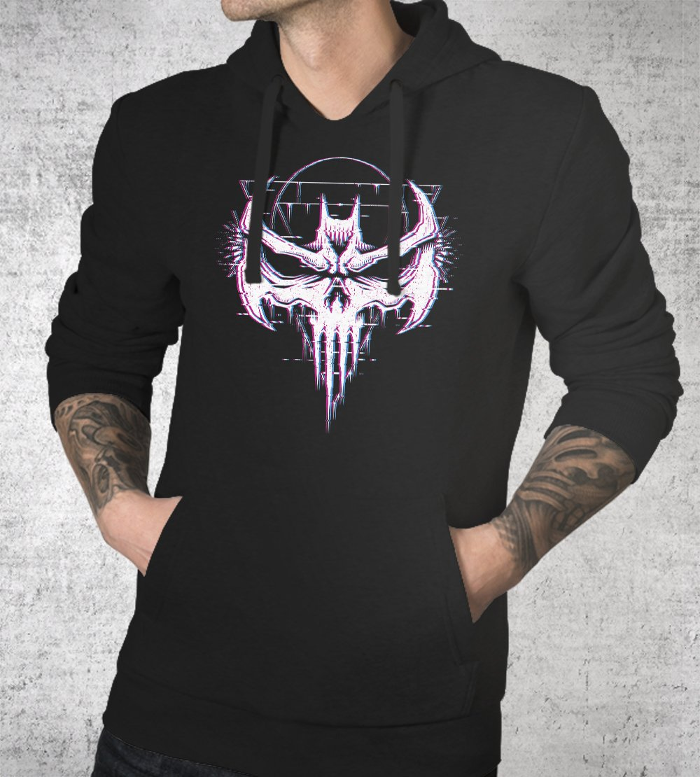 Batskull Hoodies by Studiom6 - Pixel Empire