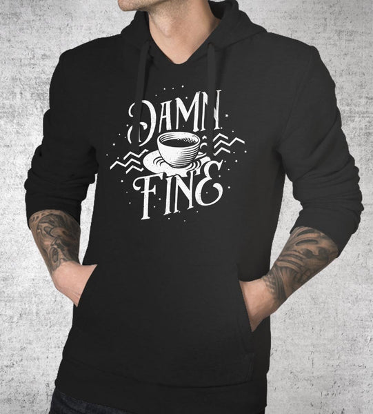 Damn Fine Coffee Hoodies by Barrett Biggers - Pixel Empire