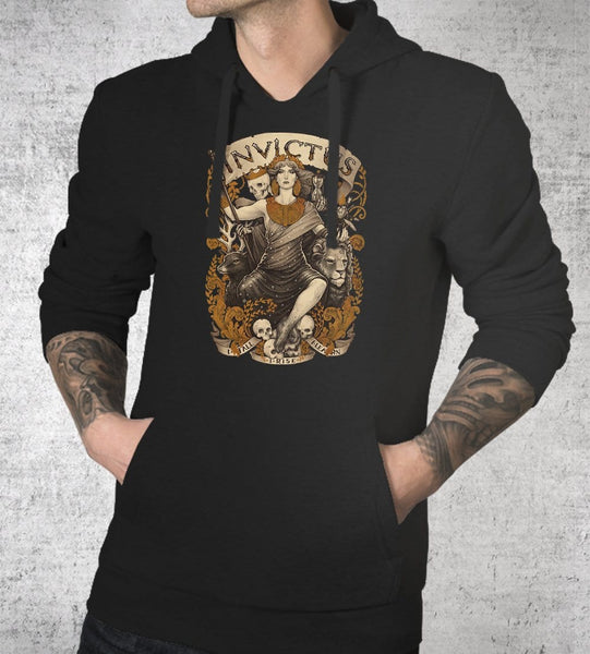 Invictus Hoodies by Medusa Dollmaker - Pixel Empire