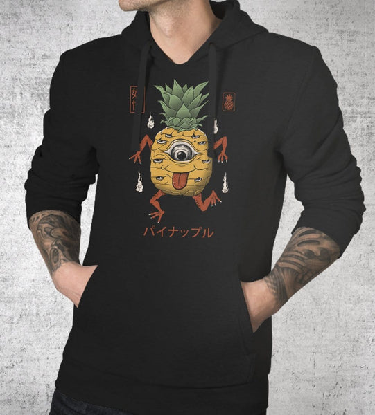 Yokai Pineapple Hoodies by Vincent Trinidad - Pixel Empire