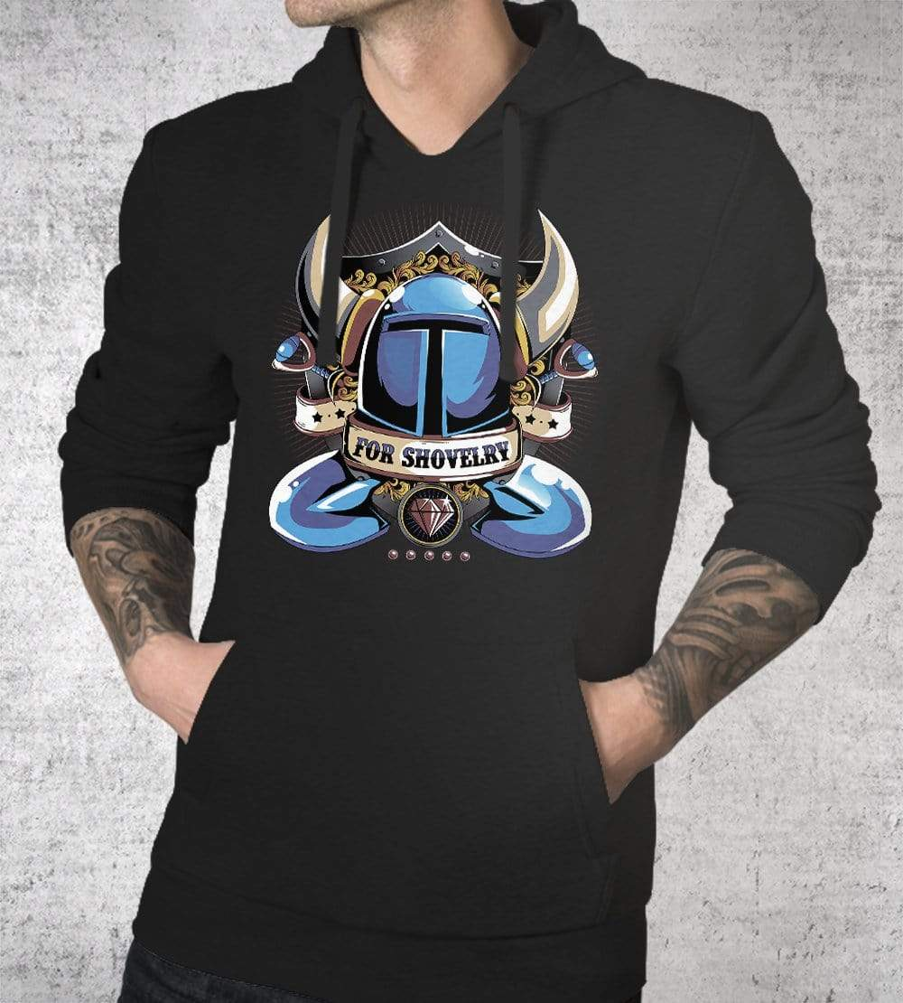 For Shovelry Hoodies by Typhoonic - Pixel Empire