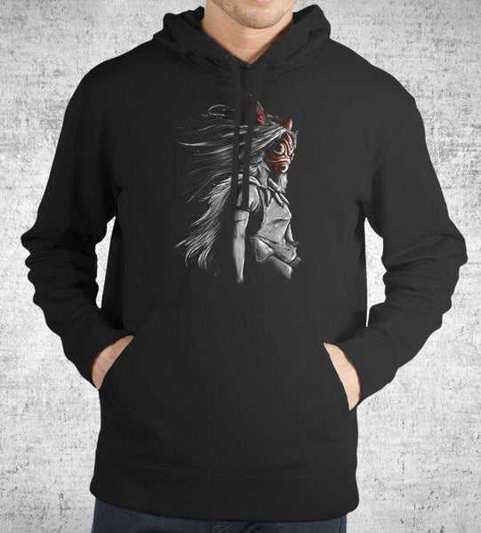 Sans Fury Mononoke Hoodies by Barrett Biggers - Pixel Empire