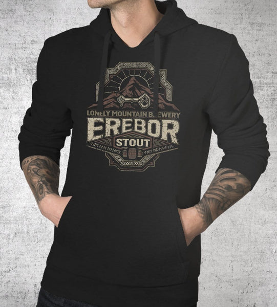 Erebor Stout Hoodies by Cory Freeman Design - Pixel Empire