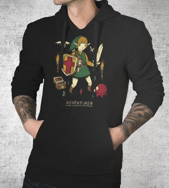 Adventurer Hoodies by Louis Roskosch - Pixel Empire