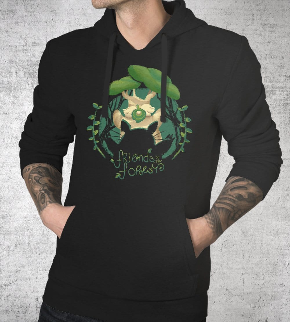 Friends Of The Forest Hoodies by Andre Fellipe - Pixel Empire