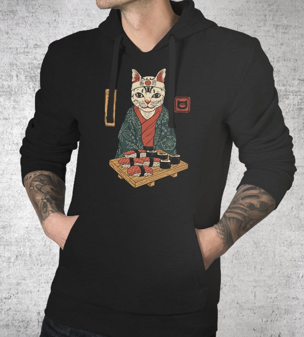 Neko Sushi Bar Hoodies by Vincent Trinidad - Pixel Empire