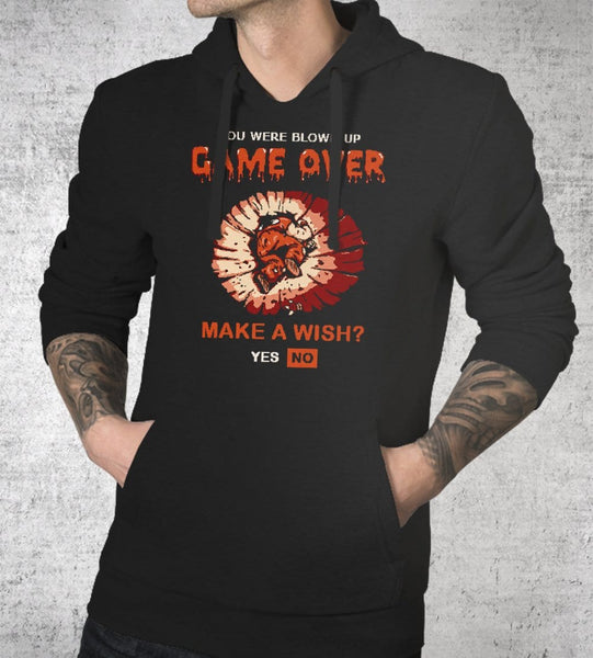 Game Over Yamcha Hoodies by Cod Designs - Pixel Empire