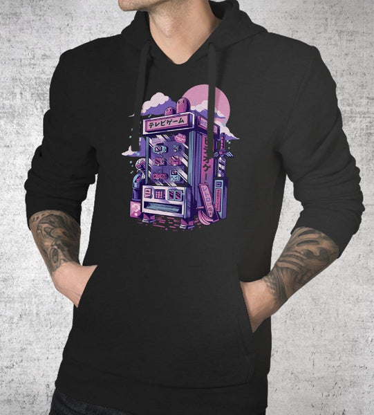 Retro Gaming Machine Hoodies by Ilustrata - Pixel Empire