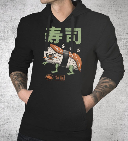Yokai Sushi Hoodies by Vincent Trinidad - Pixel Empire