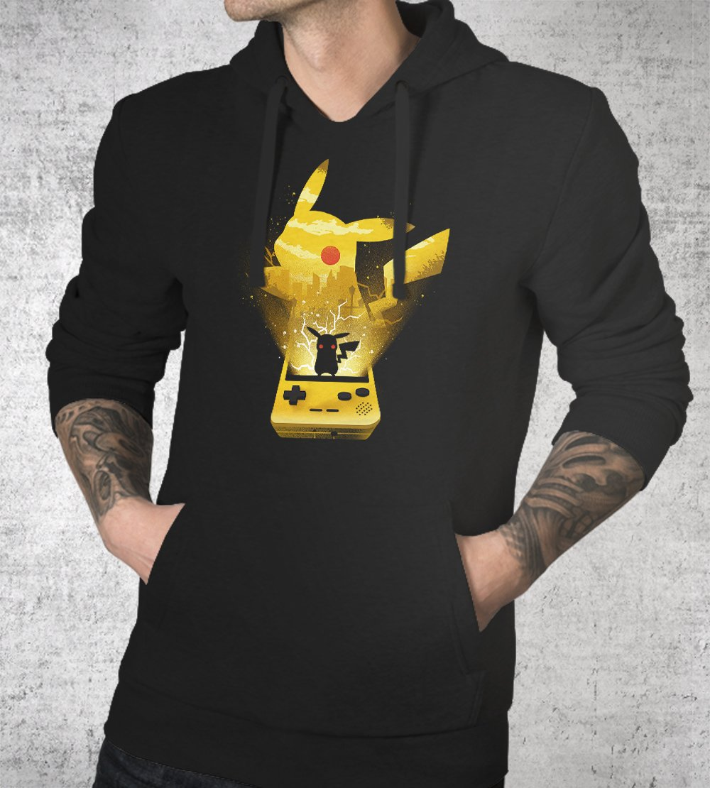 Pokemon Yellow Hoodies by Dan Elijah Fajardo - Pixel Empire