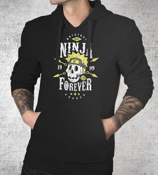 Ninja Forever Hoodies by Olipop - Pixel Empire