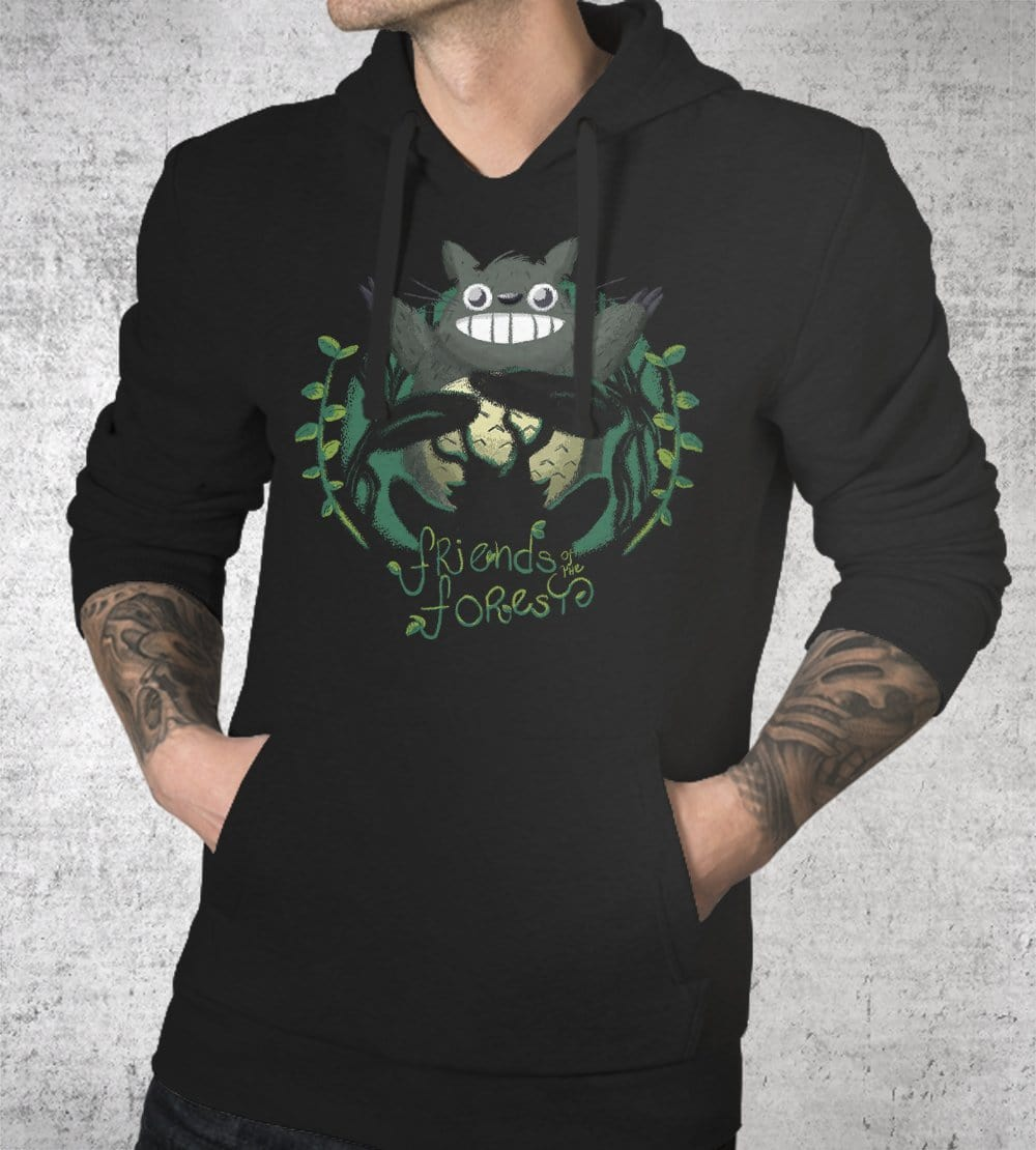 Friends Of The Forest Hetsu Hoodies by Andre Fellipe - Pixel Empire