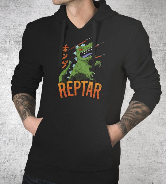 Reptar Hoodies by Cory Freeman Design - Pixel Empire