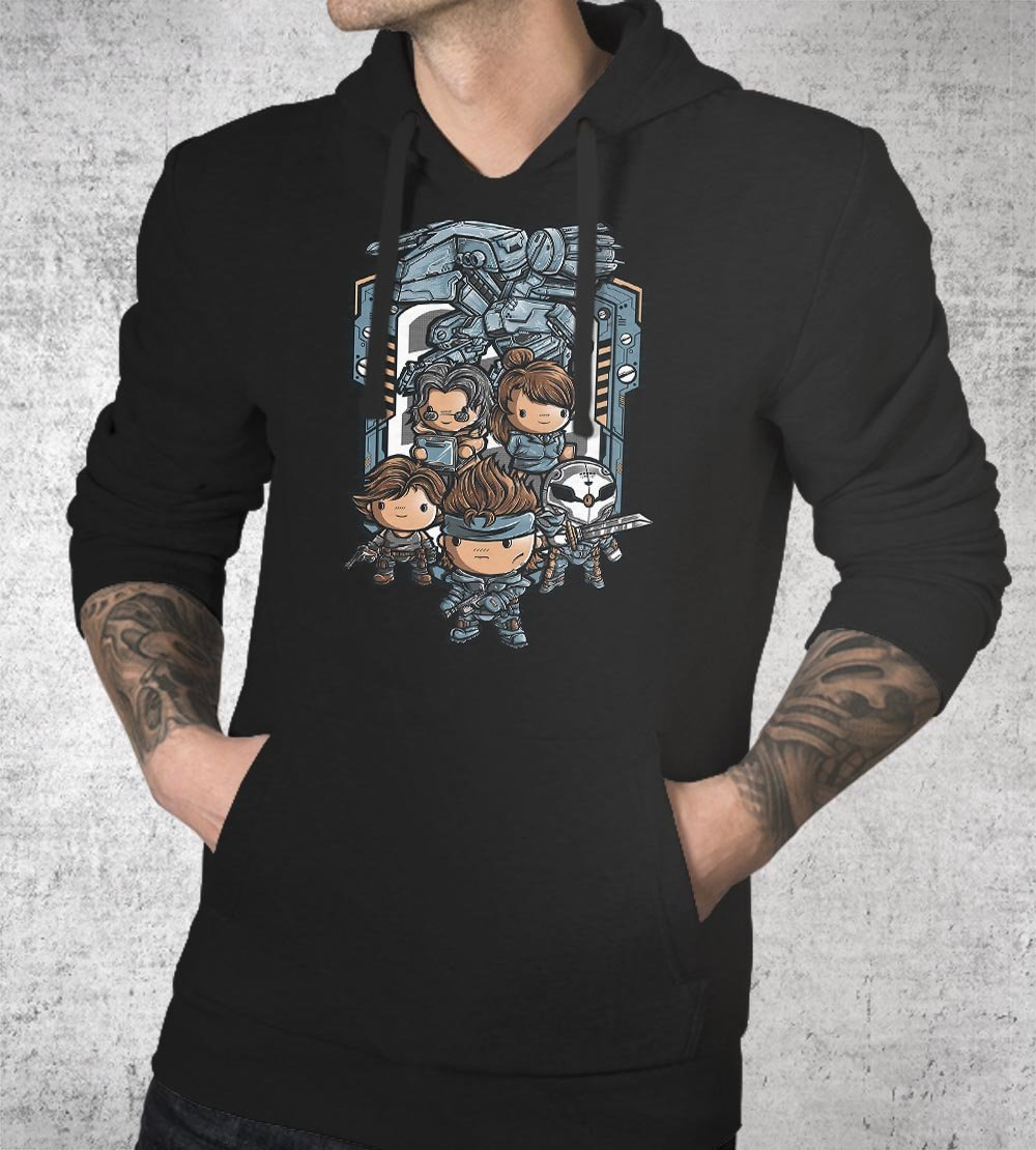 Metal Cute Solid Hoodies by Juan Manuel Orozco - Pixel Empire