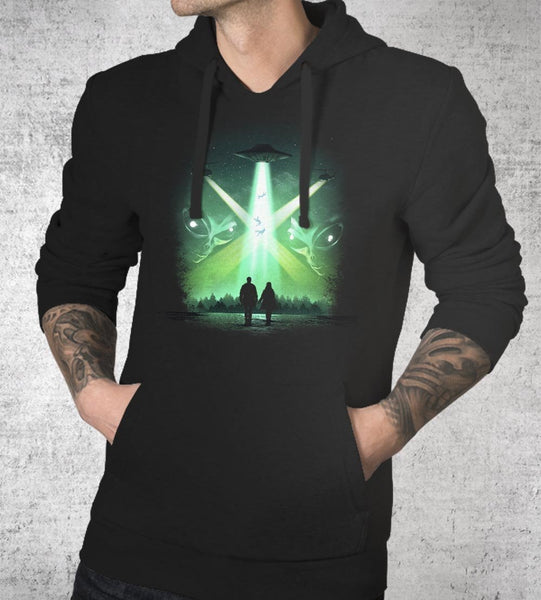 They Are Here Hoodies by Dan Elijah Fajardo - Pixel Empire