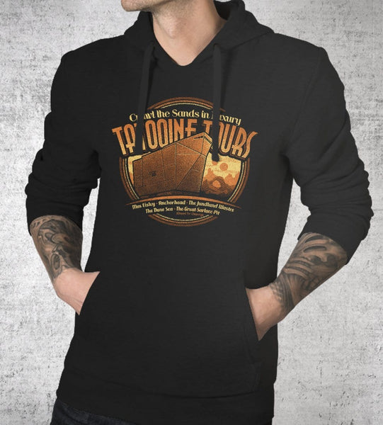 Tatooine Tours Hoodies by Cory Freeman Design - Pixel Empire