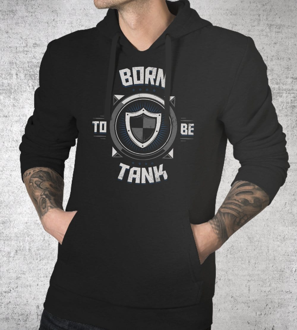 Born To Be Tank Hoodies by Typhoonic - Pixel Empire