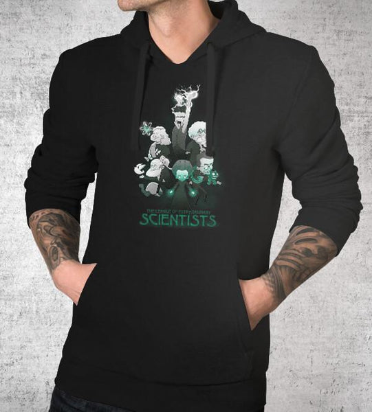 League of Extraordinary Scientists Hoodies by Anna-Maria Jung - Pixel Empire