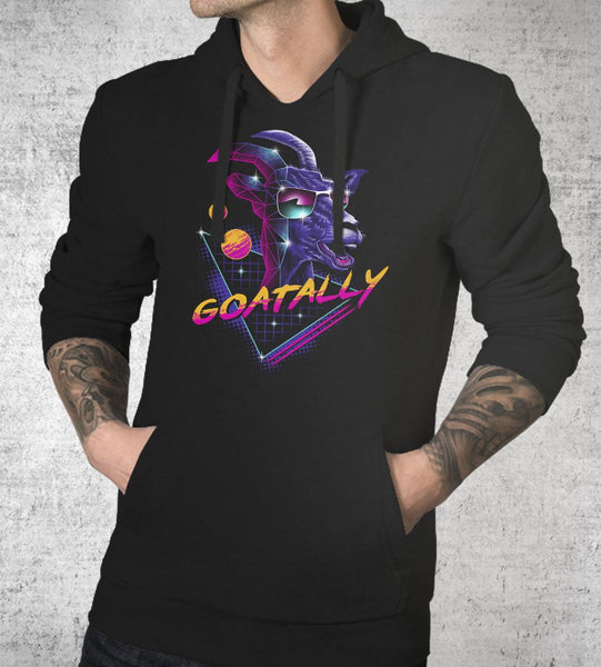 Goatally Hoodies by Vincent Trinidad - Pixel Empire
