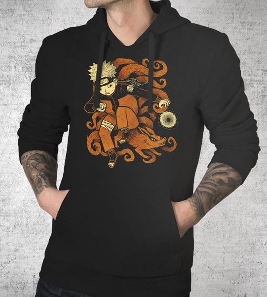 Nine Tails Hoodies by Louis Roskosch - Pixel Empire