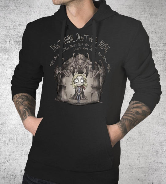 Don't Blink Hoodies by Saqman - Pixel Empire