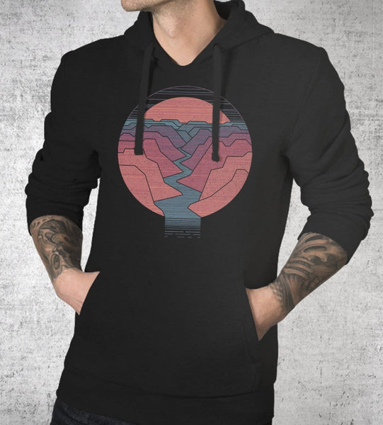 Canyon River Hoodies by Rick Crane - Pixel Empire
