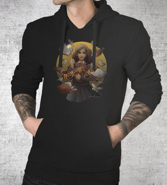 The Magic Of Books Hoodies by Saqman - Pixel Empire