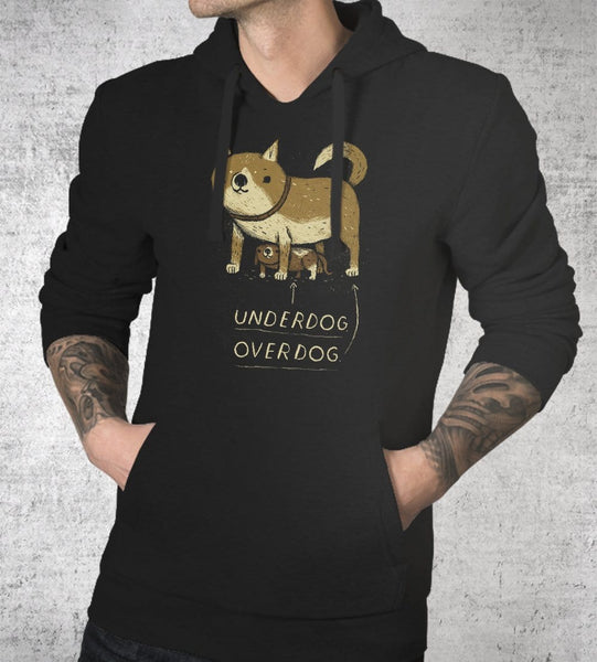 Underdog Hoodies by Louis Roskosch - Pixel Empire