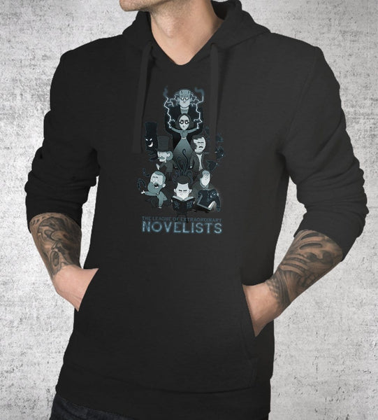 League Of Novelists Hoodies by Anna-Maria Jung - Pixel Empire