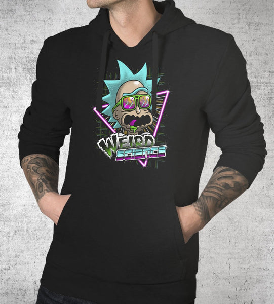 Weird Science Hoodies by Vincent Trinidad - Pixel Empire