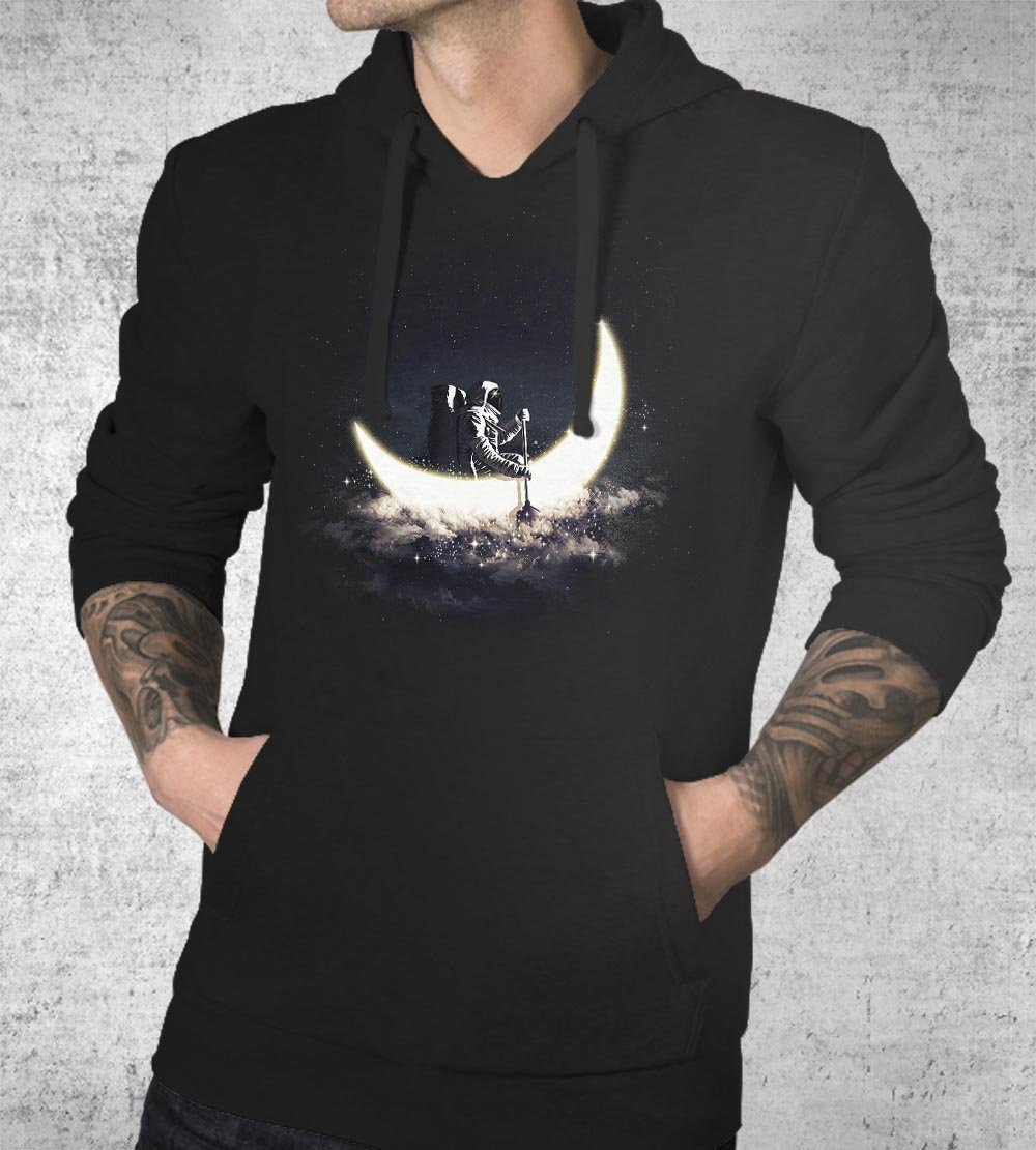 Moon Sailing Hoodies by Dan Elijah Fajardo - Pixel Empire