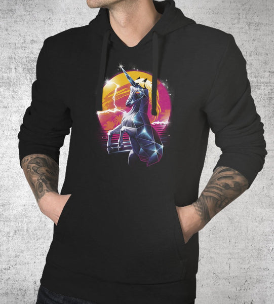 Rad Unicorn Hoodies by Vincent Trinidad - Pixel Empire