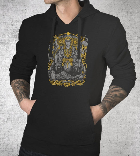 Iberian Hecate Hoodies by Medusa Dollmaker - Pixel Empire