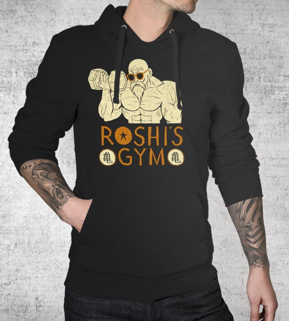 Roshi's Gym Hoodies by Louis Roskosch - Pixel Empire