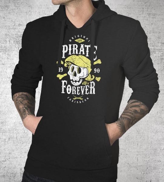 Pirate Forever Hoodies by Olipop - Pixel Empire
