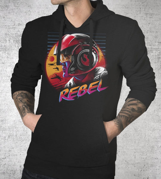 Rad Rebel Hoodies by Vincent Trinidad - Pixel Empire