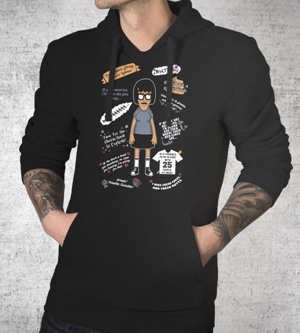 Tina Quotes Hoodies by Legendary Phoenix - Pixel Empire