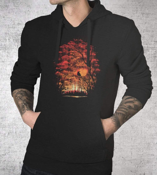 Burning In The Skies Hoodies by Robson Borges - Pixel Empire