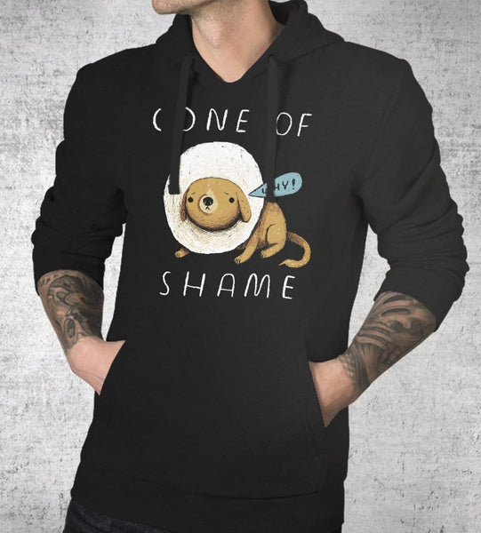 Cone Of Shame Hoodies by Louis Roskosch - Pixel Empire