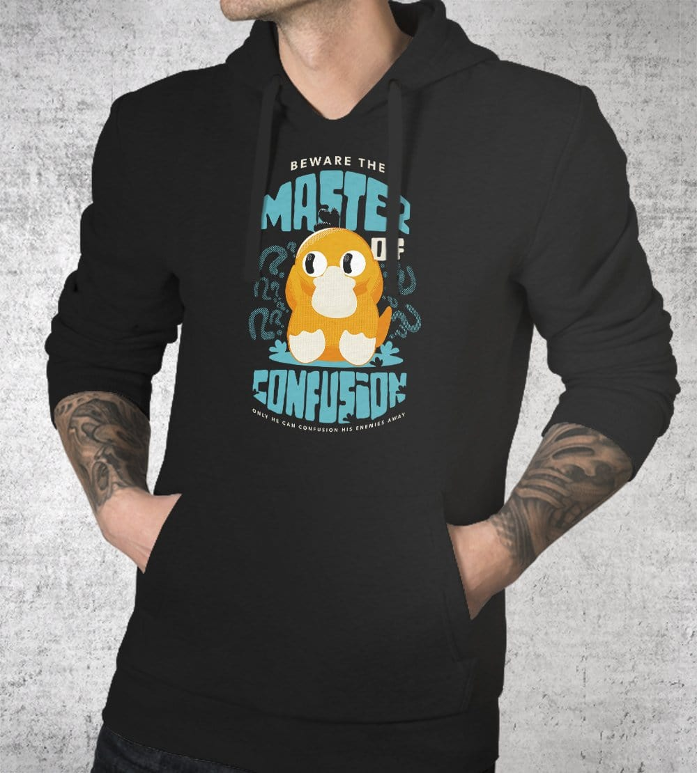 Master Of Confusion Hoodies by Andre Fellipe - Pixel Empire