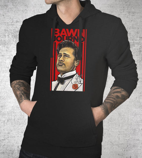 Bawn Journo Hoodies by Barrett Biggers - Pixel Empire
